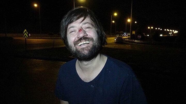 Oyuncu Sadi Celil Cengiz trafik kazası geçirdi: Babasıyla birlikte yaralandı