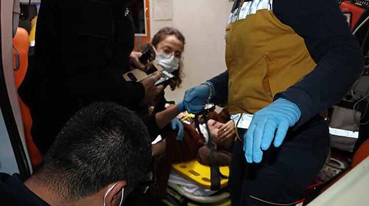 Kaza sonrası sakinleşemeyen anne için polis harekete geçti: Video çekip gösterdi