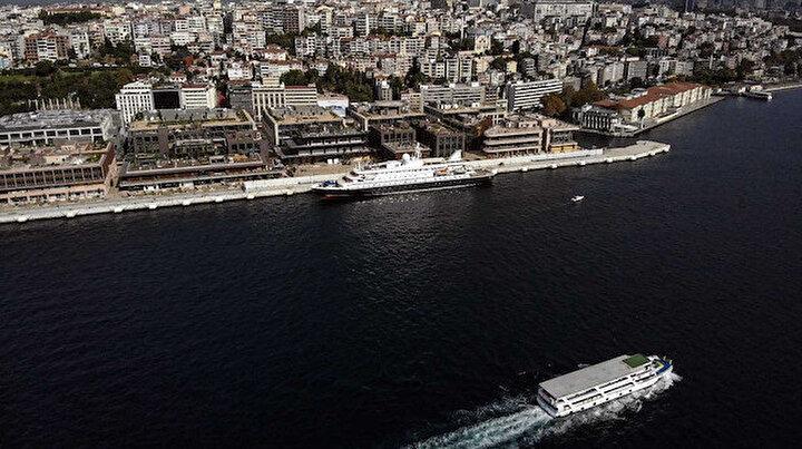 Galataport İstanbulda karşılama: İlk yolcu gemisini dünyanın tek yer altı kruvaziyer terminalinde ağırlıyor