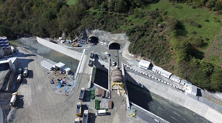 Yeni Zigana Tünelinde kazı işlemlerinin yüzde 94ü tamamlandı: 1,5 saatlik yol 40 dakikaya düşecek