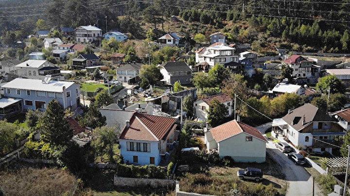 Bu köydeki ev fiyatları lüks semtlerle yarışıyor: Fiyatı 3 milyona kadar çıkıyor