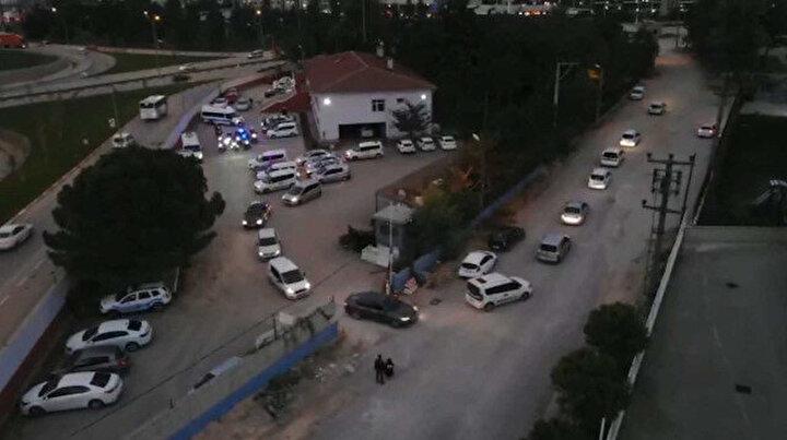 Dronelar havalandı uyuşturucu satıcıları tek tek gözaltına alındı
