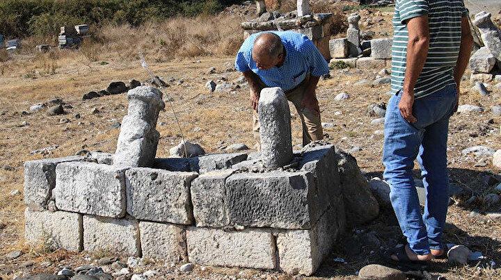 Mezarlığın içler acısı hali: Dışarda kalan onlarca kabir var