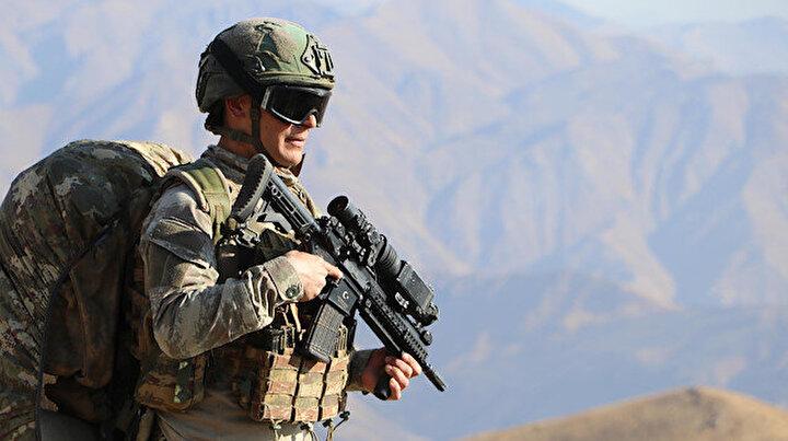 Hudut Kartalları yerli ve milli silahlar 24 saat nöbette