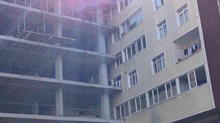 Şişlideki binayı gören bir daha bakıyor: Apartman evin içine girdi vatandaşlar hava alamıyor
