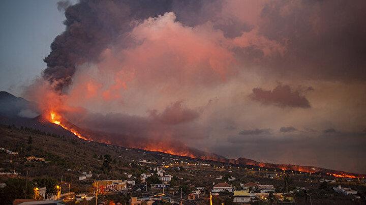 İspanyadaki Cumbre Vieja Yanardağının lavları 431 hektarlık alanı kapladı