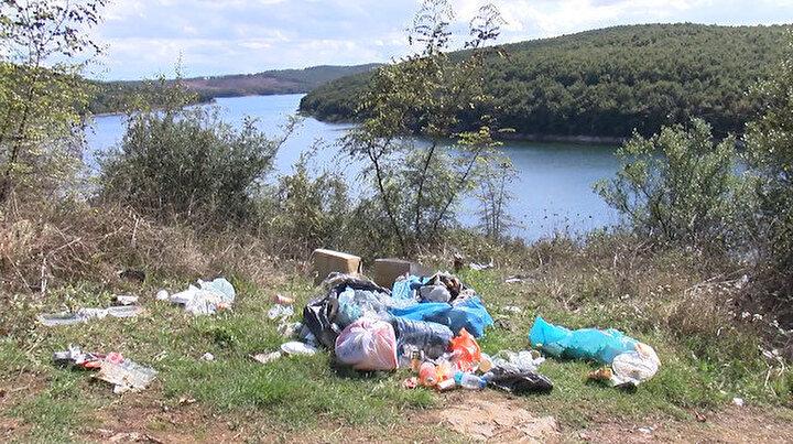 Ömerli Barajının çevresi çöplüğe döndü: Köylüler isyanda Hayvanlarımız zehirleniyor