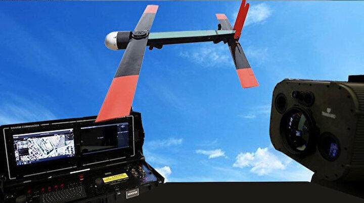 Drone avcısı Fedai  ilk kez görüntülendi: 10 bin parçacıkla tehdidi avlayacak