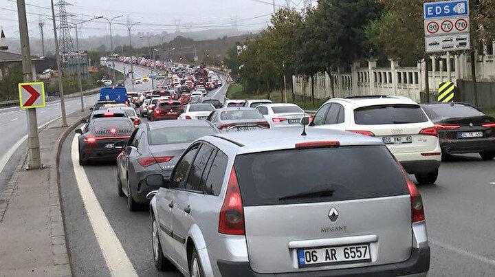 Trafikte Formula 1 yoğunluğu: Bazı yollar kilitlendi vatandaşlar yürümek zorunda kaldı