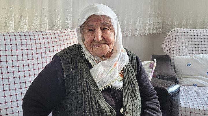 106 yaşındaki Nuriye Nine koronavirüsü yendi: Sağlığımı aşıya borçluyum