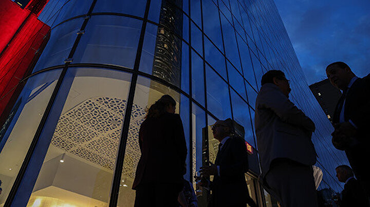New Yorkta yenilenen Türkevi uluslararası diplomatlara kapılarını açtı