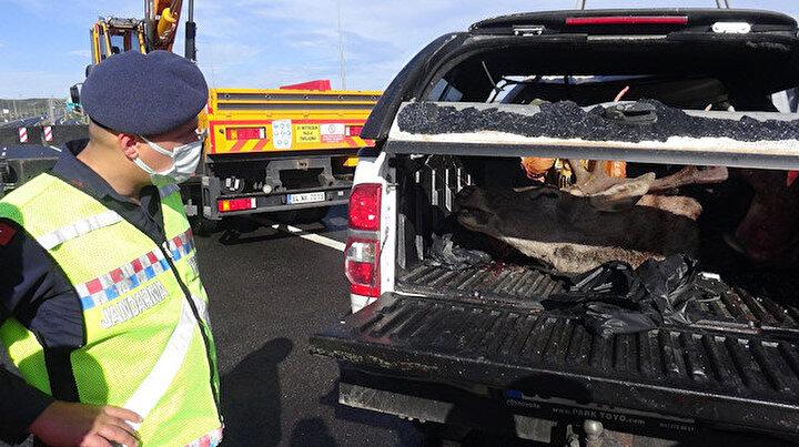 Avcılar kaza yapınca ortaya çıktı: Olayla ilgili soruşturma başlatıldı