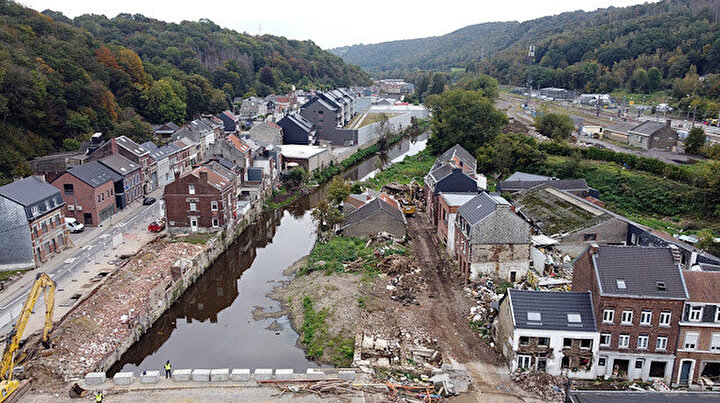 Belçikada felaketin üzerinden 3 ay geçti: Selin izleri hala silinemedi