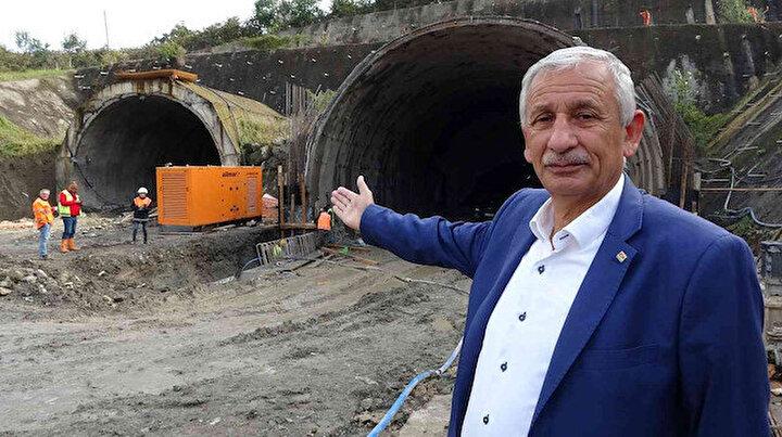 Türkiyenin en pahalı yol projesinde çalışmalar sürüyor: Doğu Karadeniz'i Kafkasya'ya bağlayacak