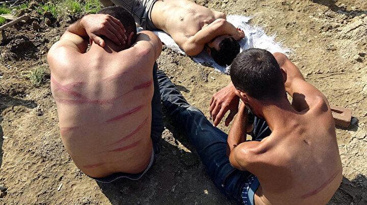Yunanistan önce gasp sonra işkence etti: Türkiyeye itilen göçmenlere şefkat eli
