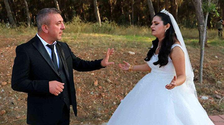 Gelin ve damada büyük şok: Düğün günü dış çekime gittiler, hayatlarının şokunu yaşadılar
