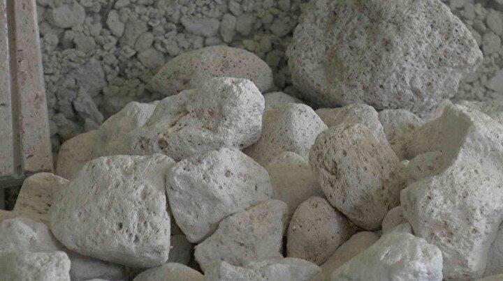 Beyaz altın olarak tabir edilen bims madenine talep her geçen gün artıyor: 55 ülkeye gönderiliyor