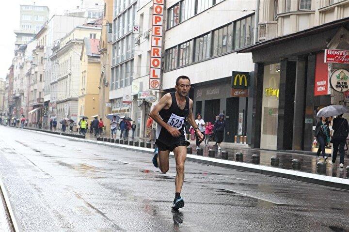 Bosna sokaklarında atletizm ruhu