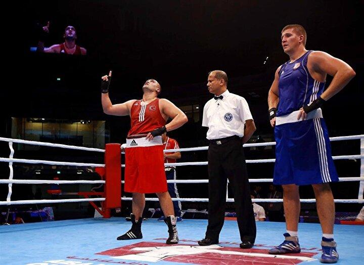 Milli boksörümüz ringe çıktı
