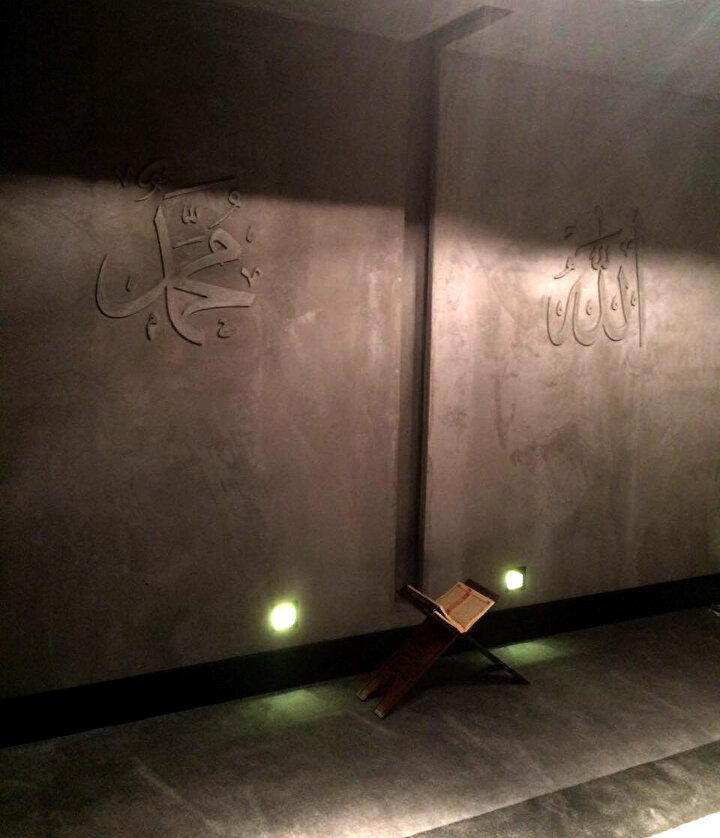 İslam dininin klasik cami motifleri ile dizayn eden mescidler tüm tribünlerde yer alıyor.