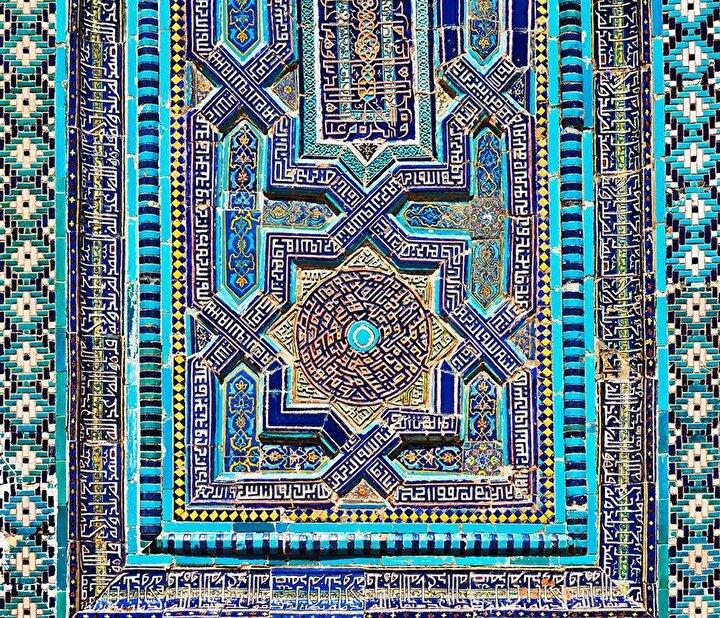 Antik Özbek çinileri