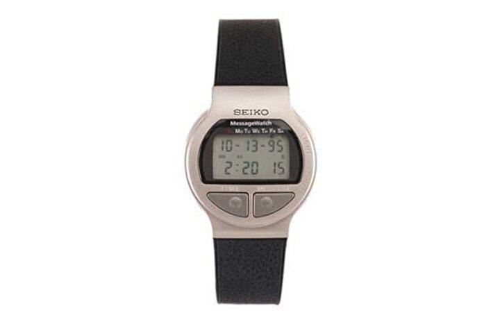 Seiko Message Watch 90lı yılların yüksek teknolojiye sahip saatlerindendi. E-posta,sesli mesaj ve çağrı alabilen bu saat 1998 yılında piyasaya sürülmüştü.