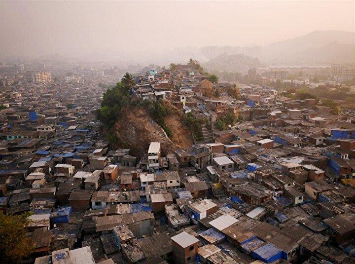 Bombayın kenar mahalleleri Hindistan