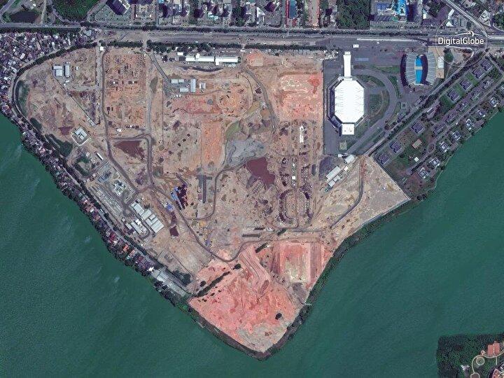 Öncesi: Barra Olimpik Parkı