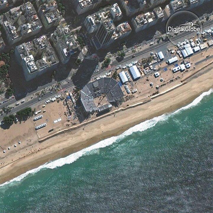 Sonrası:  Plaj voleybolu sahası