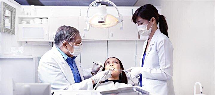 Tedavi esnasında herhangi bir nedenle işleme ara vermek isterseniz, bunu tedavi başlamadan diş hekiminizle aranızda bir işaret ile belirleyebilirsiniz.