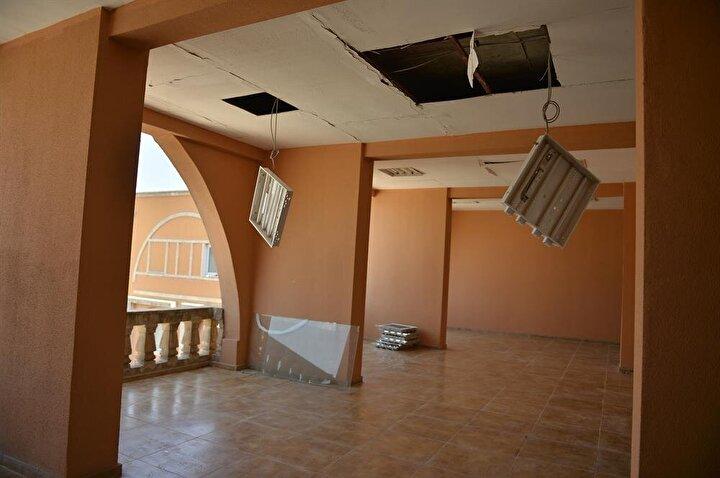 Patlamanın etkisi ile hastanenin camları kırılırken, yemekhane, çamaşırhane ve bazı polikliniklerde hasar oluştu, hastanenin bazı bölümlerinin de tavanı çöktü.