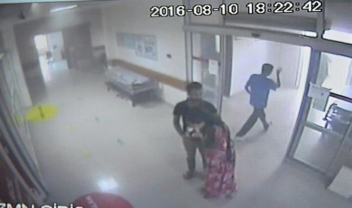 Mardinin Kızıltepe ilçesinde PKKlı teröristlerce bomba yüklü araçla düzenlenen saldırı anına ilişkin olay yerine yakın hastanenin farklı noktalarından kaydedilen güvenlik kamerası görüntüleri ortaya çıktı.