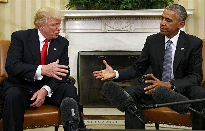 Amerikan medyası, Trumpın Barack Obama ile görüşmesine büyük ilgi gösteriyor. Amerikan televizyon kanalları, Trumpın uçağının Ronald Reagan havalimanına inişini canlı olarak verdi.
