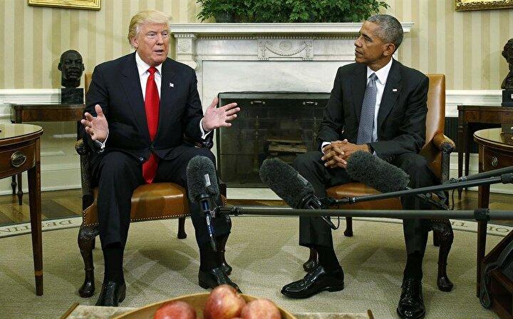 Görüşme sonrası açıklama yapan Obama, Trump ile iç ve dış politikaya yönelik konuları konuştuklarını söylerken, Trump ise Obama ile görüşmekten büyük onur duyduğunu ifade etti.