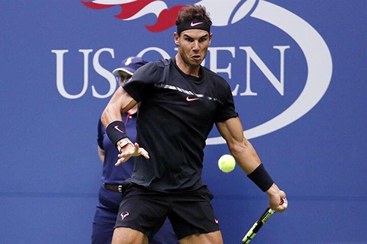 İspanyalı raket Rafael Nadal, yarışı kazandı.