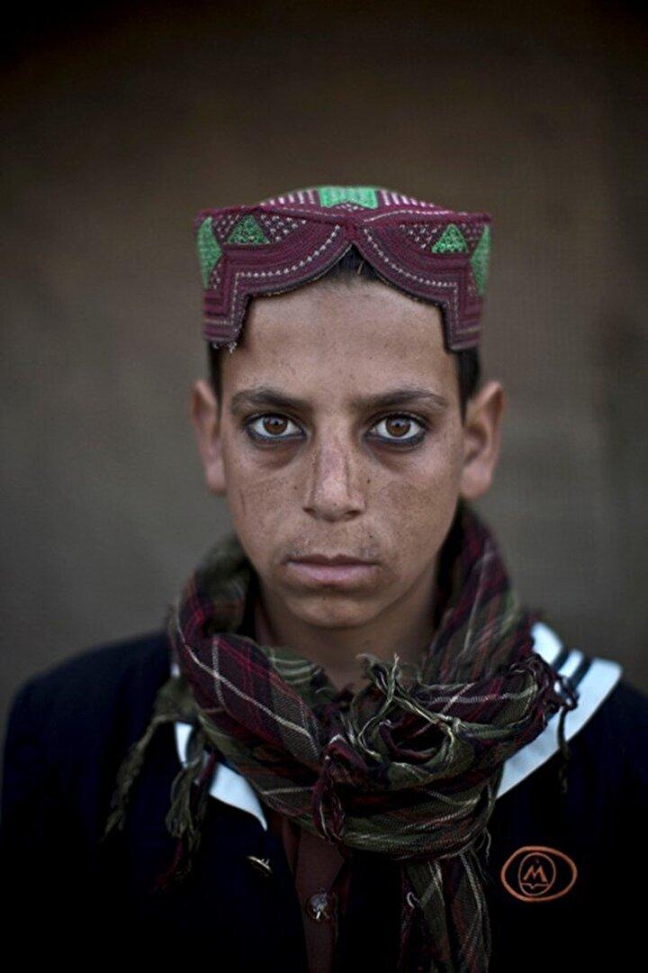 13 yaşındaki Akhtar Babrek.