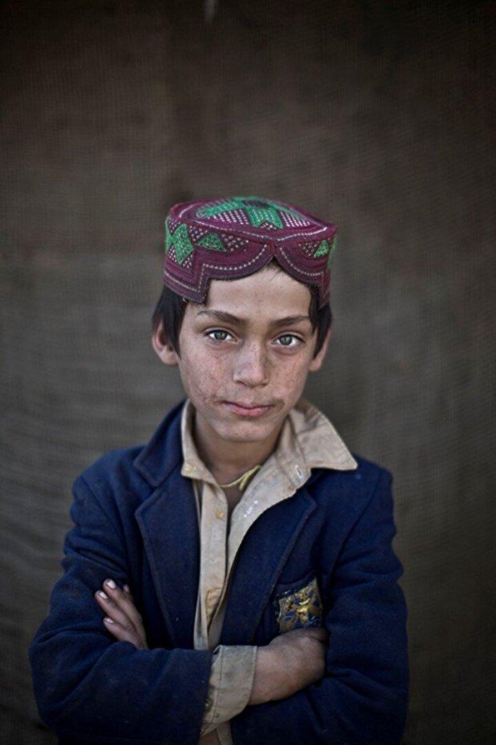 8 yaşındaki İbrahim Rahees.