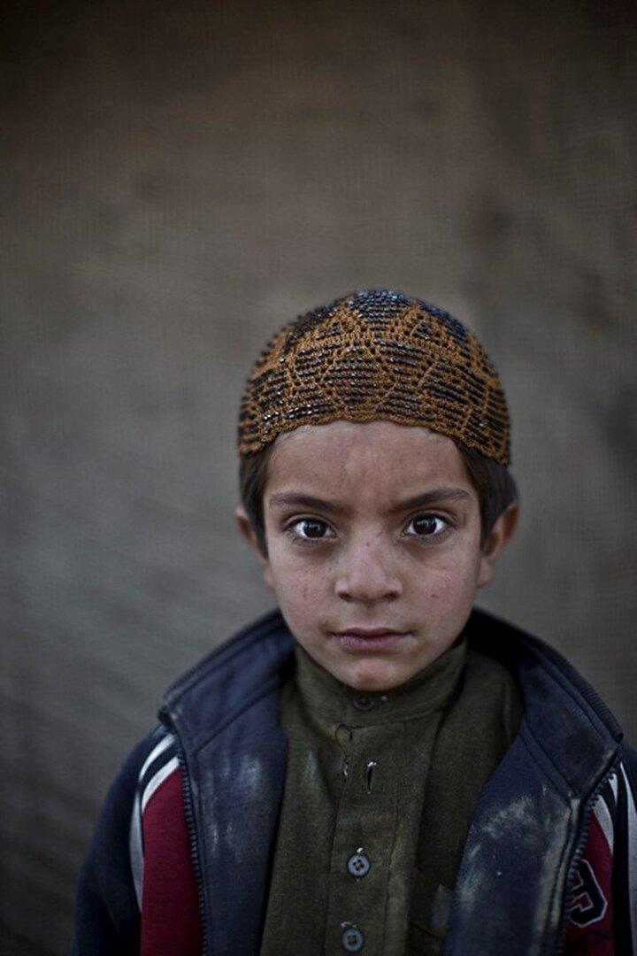 6 yaşındaki Allam Ahmad.