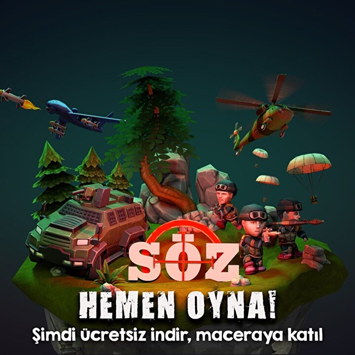 Yapımını 'TIMS&B'nin, yapımcılığını Timur Savcı ve Burak Sağyaşar'ın yaptığı, ekranların reyting rekortmeni dizisi SÖZün mobil oyunu App Store ve Google Playde yerini aldı.