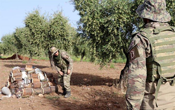 TSK ve Özgür Suriye Ordusu (ÖSO) 18 Martta Afrini teröristlerden temizlemişti.
