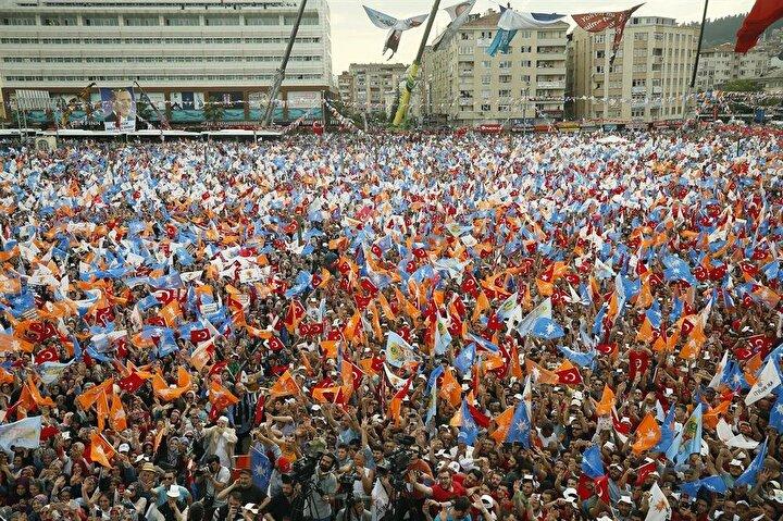 AK Partinin Kocaeli mitingi