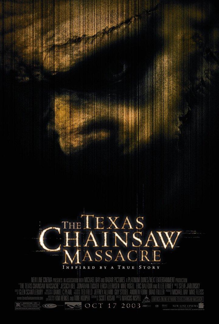 The Texas Chainsaw Massacre -Teksas Katliamı  The Texas Chainsaw Massacre filmi içerdiği ciddi şiddet sahneleri yüzünden birçok ülkede yasaklandı.