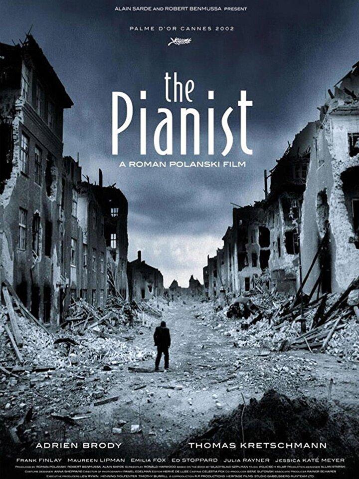 The Pianist - Piyanist Roman Polanski'nin üç Oscar kazanan filmi İkinci Dünya Savaşı sırasında yaşanan gerçek bir dramı konu alır.