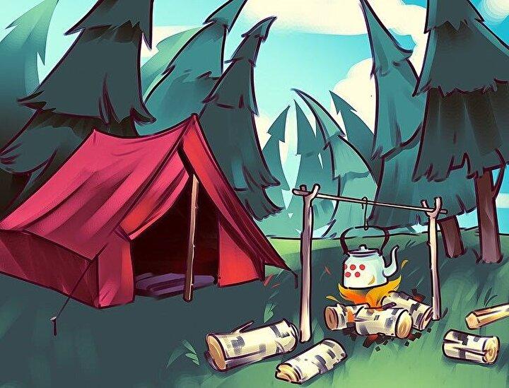 Kamp alanında yanlış giden bir şeyler var. Sizce nedir?
