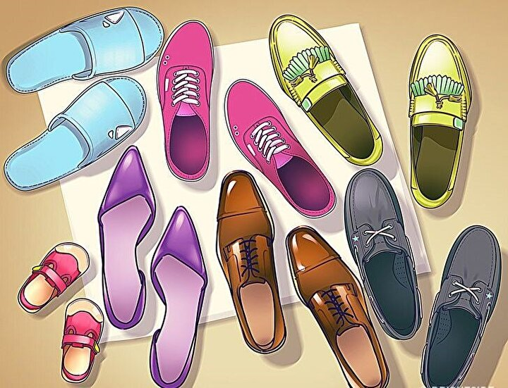 Kapı önüne bırakılan ayakkabılarda yanlış nedir?