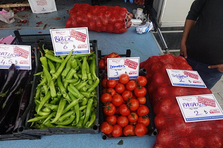 Öte yandan sebze ve meyvelerin tanzim fiyatlarıyla satışı, PTTnin internet adresinden de gerçekleştiriliyor. Tanzim satış noktalarındaki ürünlere www.epttavm.com adresi kullanılarak, PTT Kargo ve Lojistik aracılığıyla ulaşılabiliyor.