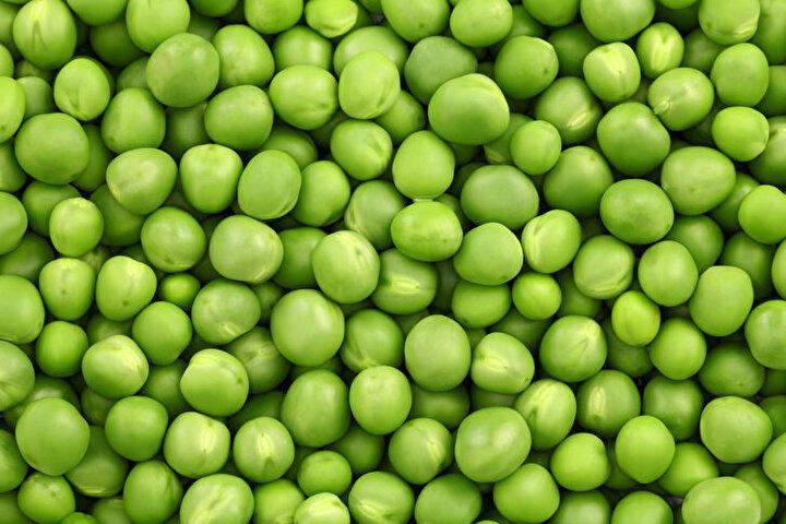 Bezelye: Karbonhidrat, C vitamini ve lif kaynağıdır. Aynı zamanda bitkisel proteindir. Kolesterol içermemektedir.