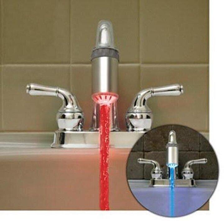 Neon ışıklarla suyunuz böyle aksın ister misiniz?