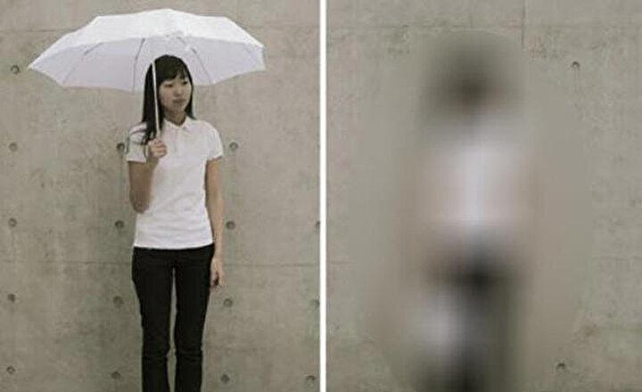 Çılgın buluşların bolca çıktığı Japonyadan bambaşka bir yaratıcılık örneği daha... Japon kız yaptı, eline dikkat!