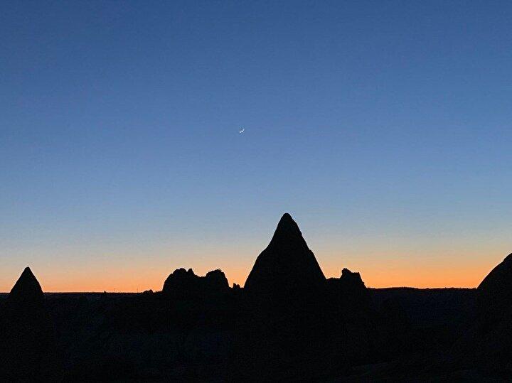 Kapadokya gün batımı – Ekin Ö, 10 – iPhone XR